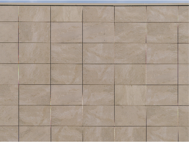 Criterion Building Simple stacked bond porcelain rainscreen system